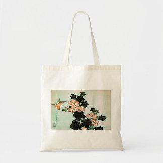 Katsushika Hokusai (葛飾北斎) - Hibiscus en Mus Draagtas