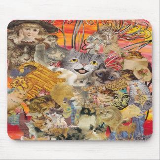 Katten een Overvloed mousepad Muismat