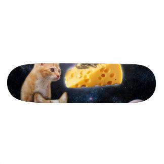 Katten en de muis op de kaas 19,7 cm skateboard deck