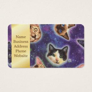 katten gezicht - kat - grappige katten - visitekaartjes