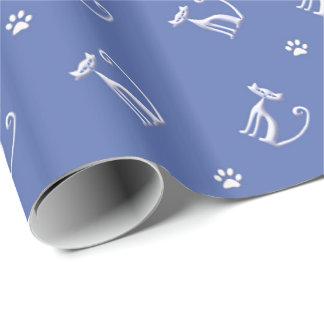 katten naadloos patroon cadeaupapier
