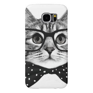 katten vlinderdas - de kat van Glazen - glaskat Samsung Galaxy S6 Hoesje