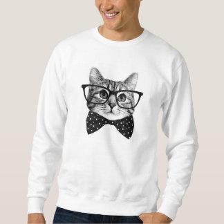 katten vlinderdas - de kat van Glazen - glaskat Trui