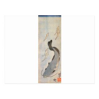 Katvis door Utagawa Kuniyoshi Briefkaart