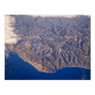 Kauai, Hawaï, LuchtUitzicht Briefkaart