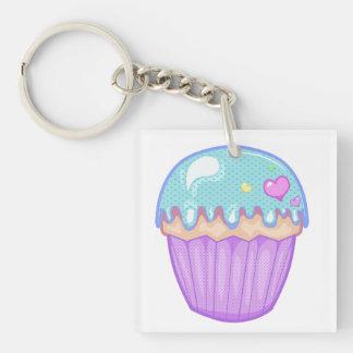 Kawaii Cupcake Keychain Sleutelhanger