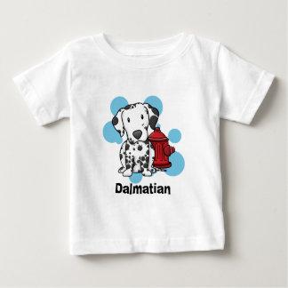 Kawaii Dalmatian & de T-shirt van de Baby van de