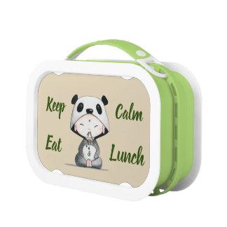 Kawaii//houd Kalm & eet Lunch Lunchbox