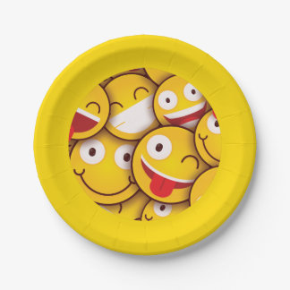 Kawaii Leuke Smiley Emoji Emoticon. Papieren Bordje