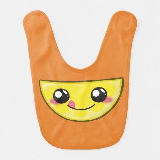 Kawaii, pret en grappige citroen babybib baby slabbetje