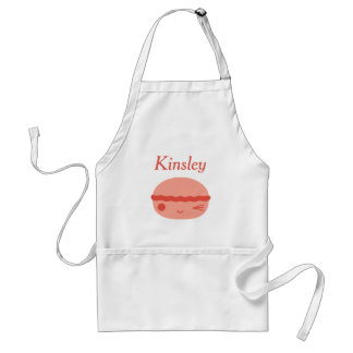 Kawaii Roze Macaron Standaard Schort