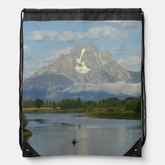 Kayaking in het Nationale Park van Grand Teton Trekkoord Rugzakje