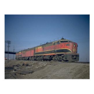 KCS fairbanks-Morse 'Erie built Briefkaart