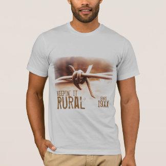 Keepin het Landelijk sinds (het Jaar van de T Shirt