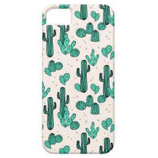 Keerkring van de cactus/de Groene van de Room van Barely There iPhone 5 Hoesje