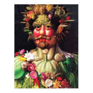 Keizer Rudolf II als Vertumnus Briefkaart