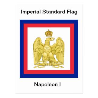Keizer StandaardVlag van Napoleon I Briefkaart