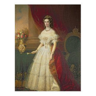 Keizerin Elizabeth van Beieren, 1863 Briefkaart