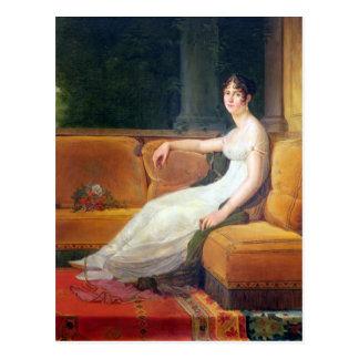 Keizerin Josephine in Malmaison, c.1801 Briefkaart