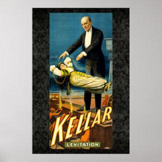Kellar Poster 36 x 24 van de Wijnoogst van de