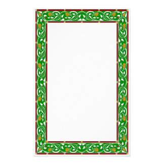 Keltisch Groen Briefpapier