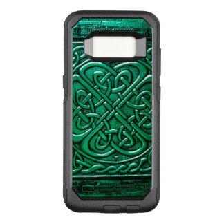Keltisch Groen Ontwerp (1) OtterBox Commuter Samsung Galaxy S8 Hoesje