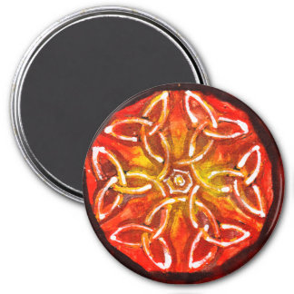 Keltische bloem - Abstracte Magneet