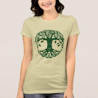 Keltische Boom van het Eeuwige Symbool Iers Erie T Shirt