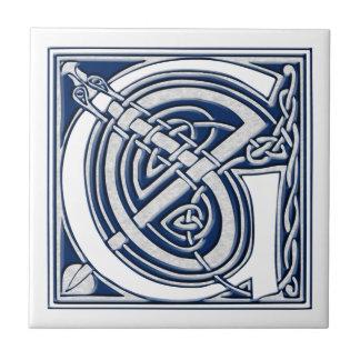 Keltische Draak Aanvankelijk G Tegeltje