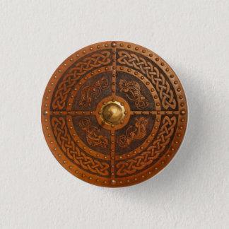 Keltische Draak Targe Ronde Button 3,2 Cm