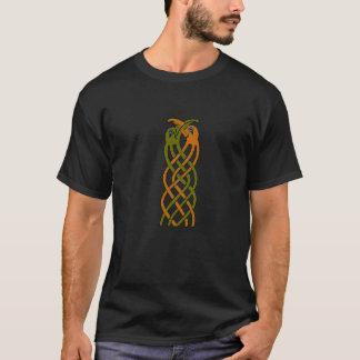 Keltische Ineengestrengelde Vogels T Shirt
