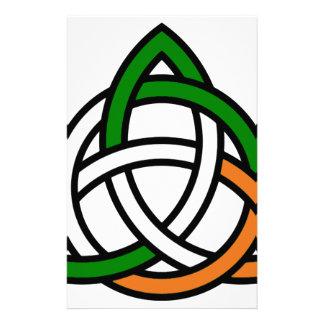 Keltische Knoop Briefpapier