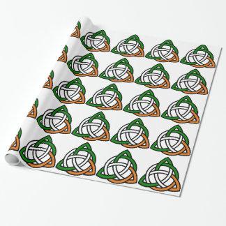 Keltische Knoop Cadeaupapier