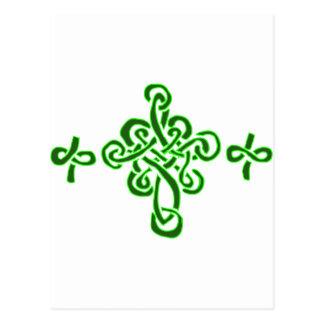 Keltische Kruisen Briefkaart