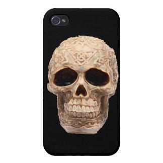 Keltische schedel iPhone 4 cases
