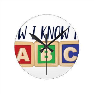 Ken Mijn ABC Ronde Klok