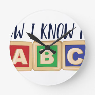 Ken Mijn ABC Ronde Klok Medium