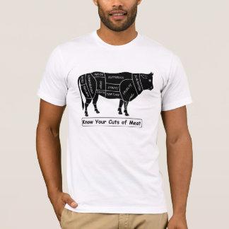 Ken Uw Besnoeiingen van Vlees T Shirt