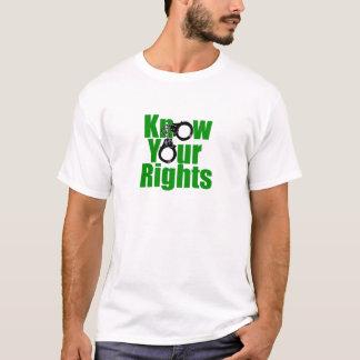 KEN UW RECHTEN - controleer T Shirt
