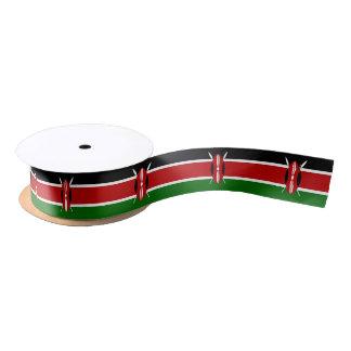Keniaans vlaglint satijnen lint