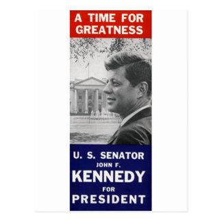 Kennedy - een Tijd voor Grootheid Briefkaart