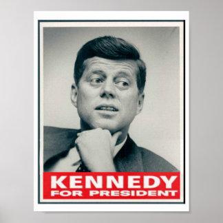 Kennedy voor President Poster