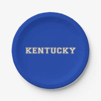 Kentucky Papieren Bordje