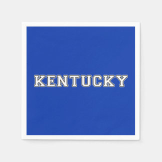 Kentucky Papieren Servetten