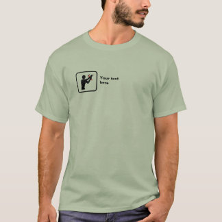 Kerel DIY -- Klein Logo -- Klantgericht T Shirt