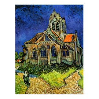 Kerk bij Auvers Van Gogh Fine Art. Briefkaart