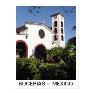 Kerk in Bucerias Centro Mexico Briefkaart