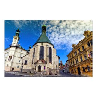 Kerk van St. Catherine, Banska Stiavnica, Briefpapier