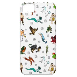 Kerker en de Pret van Draken D20 Barely There iPhone 5 Hoesje