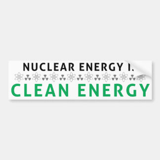 Kern is de Schone Energie Bumpersticker